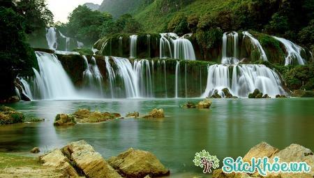 Thác Bản Giốc là thác nước hùng vĩ nhất Việt Nam